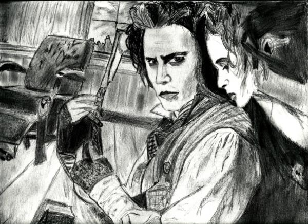 Johnny Depp by fafouette
